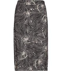 jeannie knälång kjol svart baum und pferdgarten