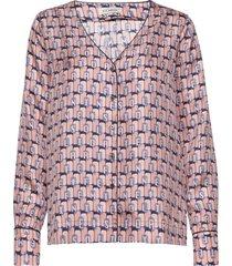jolie blouse lange mouwen roze six ames