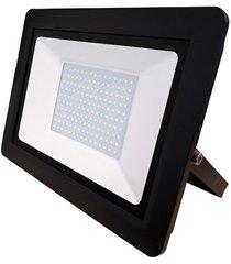 refletor led deep fit 200w bivolt preto 6500k luz branca