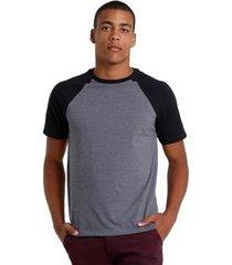 camiseta lisa raglan di nuevo masculina - masculino