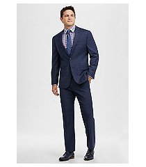 1905 collection slim fit windowpane plaid men's suit with brrr°® comfort - big & tall by jos. a. bank