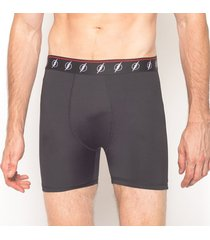 cueca boxer the flash black & white emporio alex malha preto