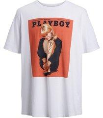 plus size t-shirt playboy print