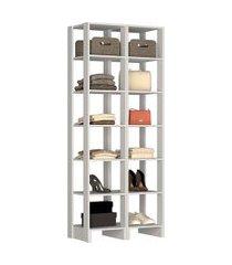 estante closet nova mobile ey104 yes com 12 prateleiras