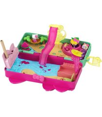 closeout! hello kitty and friends minis beach pencil box playset