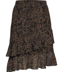 echo skirt knälång kjol multi/mönstrad minus
