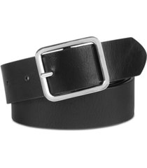 inc casual solid plus-size belt, created for macy's