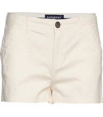 chino hot short shorts flowy shorts/casual shorts creme superdry