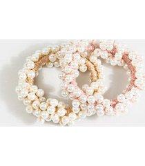 wendy pearl hair ties - pearl