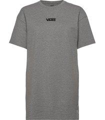 center vee tee dress kort klänning grå vans