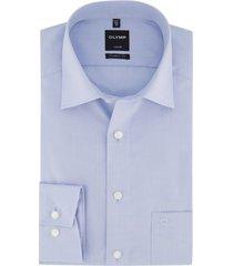 overhemd olymp luxor modern fit  licht blauw strijkvrij