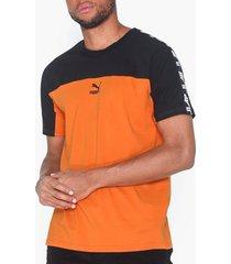 puma puma xtg tee t-shirts & linnen orange