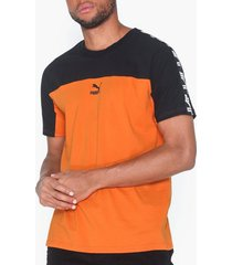 puma puma xtg tee t-shirts & linnen orange