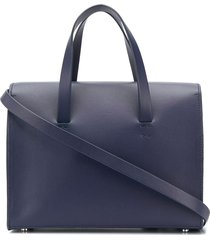 aesther ekme mini barrel tote bag - blue
