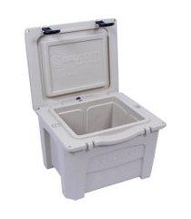 caixa térmica cooler 15 litros bege brudden náutica
