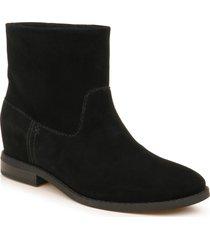 women's splendid lewis western bootie, size 9.5 m - black