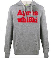 après whiski red hoodie