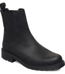orinoco2 top shoes chelsea boots zwart clarks