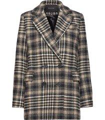 albany blazer jacket ulljacka jacka brun raiine