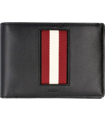 bally bhalek leather wallet