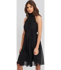 mango kahalter dress - black