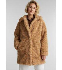 abrigo mujer beige esprit