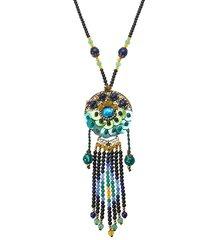 collana retro etnico perline collana di gioielli