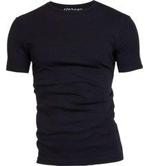 semi bodyfit t-shirt r-neck black