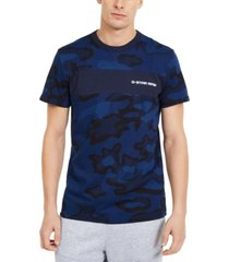 g-star raw men's rodis camo print t-shirt