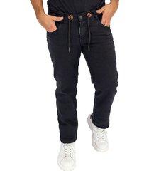 jean hombre negro ref: fashion