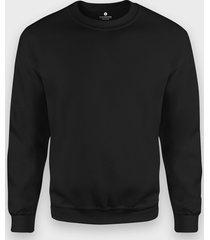 bluza klasyczna (bez nadruku, gładka) - czarna