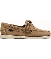 sebago scarpe portland docksides flesh out colore bege