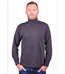 alan red col t-shirt new jersey antraciet