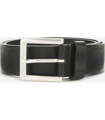 emporio armani men's belt - black - w38