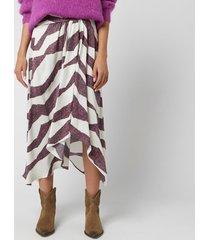 isabel marant women's rebeca skirt - ecru - fr 40/uk 12 - cream