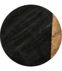 taca kamienna deska kamienna obrotowa black
