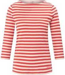 shirt van 100% katoen met 3/4-mouwen van bogner multicolour