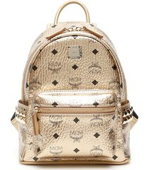 mcm stark visetos mini backpack
