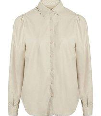 delia shirt porcelain look