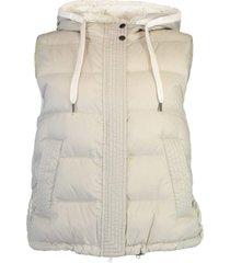reversible taffeta vest