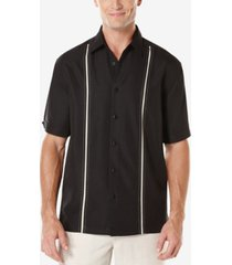 cubavera men's contrast stitch short-sleeve shirt