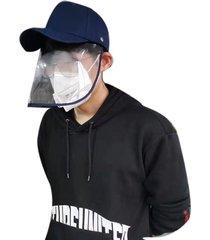 sombrero anti-vaho con máscara de algodón pvc+misty polvo de arena de