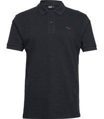 lind polo shirt polos short-sleeved blå h2o