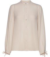 gia blouse blouse lange mouwen beige filippa k