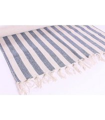 dywan bawełniany marina blue