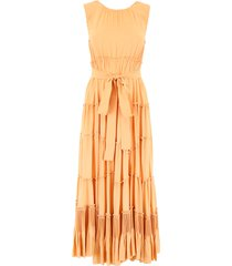 bottega veneta ruffled dress