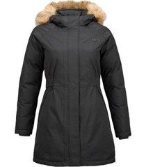 chaqueta vertical b-dry negro lippi