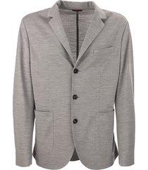 brunello cucinelli wool piqué blazer
