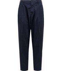 cellar door pantalone in cotone leggero blu