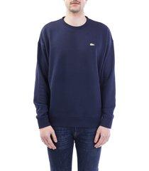 lacoste cotton sweatshirt
